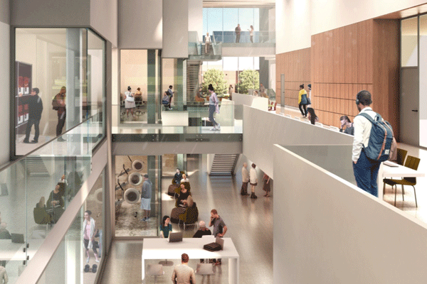 interior photo of new building